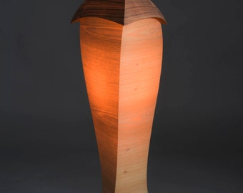 Wood veneer Lampshade - Beloeilloise # 22