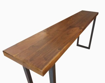 Wood Table, Wood Dining Table, Harvest Table, Wood Furniture, Walnut Table,  Walnut Dining Table, Walnut Furniture, Free Shipping