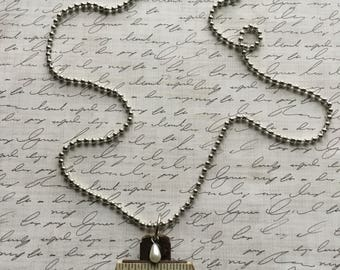 Vintage Cross Pendant with Chain