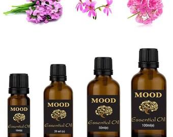 Rose geranium essential oil natural aromatherapy essential oils