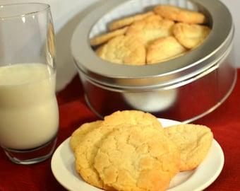 Snickerdoodle Cookies, Cinnamon Cookies, Gourmet Cookies, Homemade Cookies, Classic Cookies, Sweet Treats, College Care Package, Cookie Gift