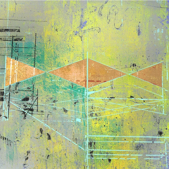 Cat's Cradle, abstract art, limited edition fine art print,