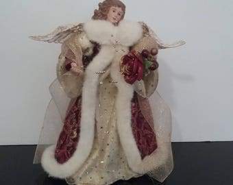 12' Angel Tree Topper, Christmas Decorations