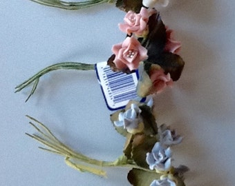 Clay Polymer Flowers with Pips by Modern Romance
