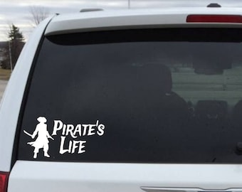 Pirate's Life Decal