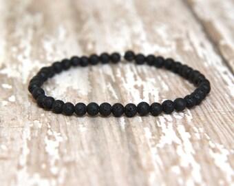 Diffuser Bracelet, essential oils diffusing bracelet, aromatherapy, lava rock beaded bracelet, essential oil jewelry