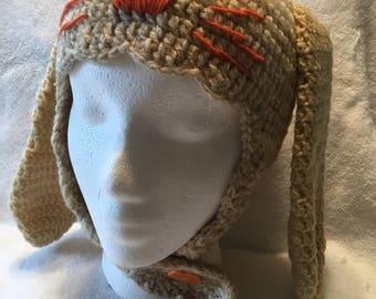 Crochet Hat for girls Dear Bunny