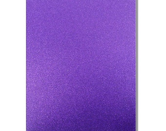 2 x A4 sheets of Premium Dovecraft Amethyst Purple Card 220 gsm