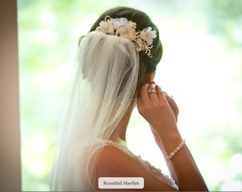 Simple Bridal Bracelet, Pearl Wedding Bracelet, Crystal Bridal Bracelet, Swarovski Pearl Bracelet, Rhinestone Wedding Bridal Jewelry, BERIT