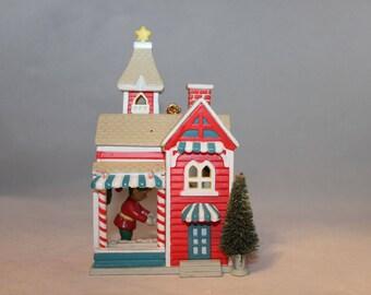 christmas ornament Santa's workshop