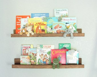 Nursery Shelves Etsy