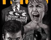 Pyscho 1960 Movie - A3 Pr...