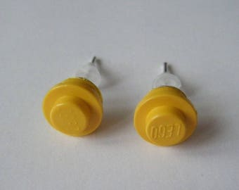 Earrings Lego yellow ♥ ♥ ♥