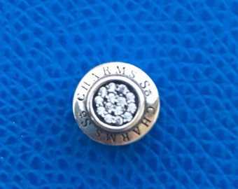 So Charms engraved 925 Silver charm