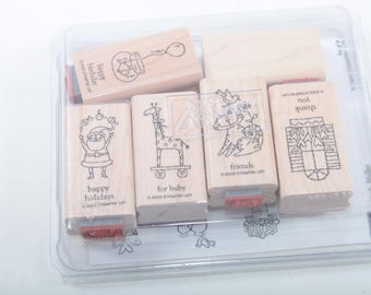 Stampin Up, Happy Birthday, Happy Holiday, Baby, Friends, Thank You, Card Making, Vintage, Stamp Set, In a Box ~ Sir Stampinton ~ 170519