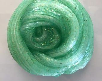 Forrest Green glitter slime