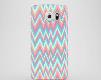 Pastel Chevron Samsung Galaxy S7 case / pastel Samsung Galaxy S6 / iPhone X, iPhone 8, iPhone 7, iPhone 6, 6S, iPhone 5, 5S, iPhone SE