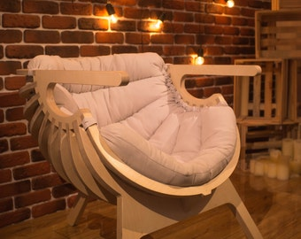 ON SALE Relax Wooden chair, Furniture, Wooden furniture chair, Seating, Wooden, Wood, Chair furniture, Cnc furniture, Loft, Chair