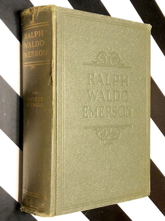 The Complete Writings of Ralph Waldo Emerson (1929) hardcover book