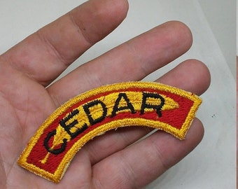 Spring Sale Vintage BSA Boy Scouts of America Cedar insignia
