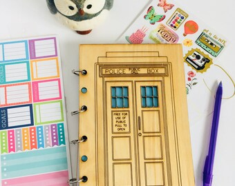 Tardis Refillable Journal