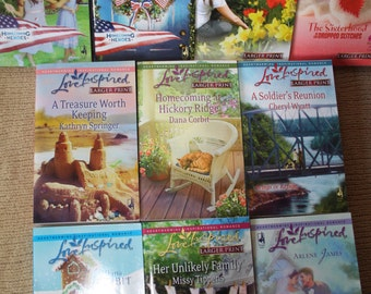 10 Love Inspired books / Love inspired novels / lot 1