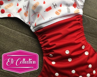 Pre-order - Cloth diaper - Cloth diaper nurse doctor nurse doctor