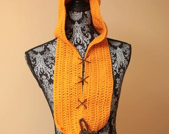 Handmade Star Wars Ewok Scoodie, cosplay, crochet, Photobooth, photo prop