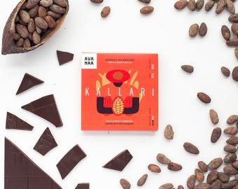 Chocolat noir d'Équateur - Ecuadorian dark single origin chocolate