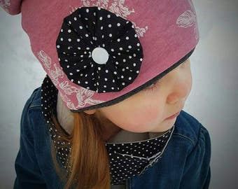 """Ready to ship * winter hat """"ALICE"""" 2-6 years"""