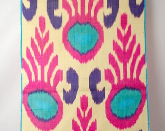 ikat fabric, ikat fabric by the yards,