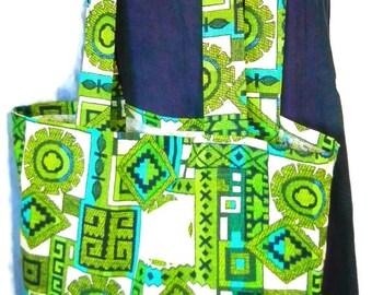 Grocery Tote Bag, Large Market Bag, Book Bag, Reusable Shopping Bag, Handmade Bag, Shopping Bag