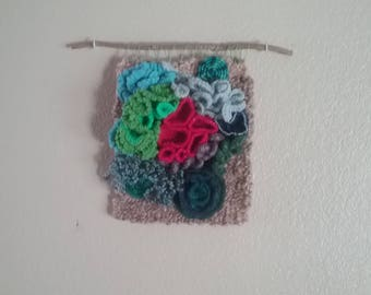 Under The Sea - Weaving and Crochet