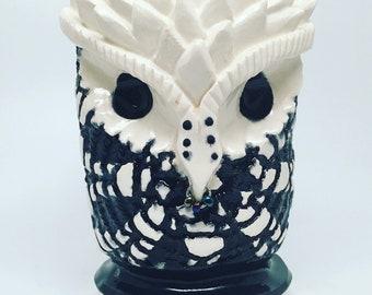 Night sky Owl mug