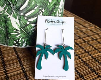 Tropical Palm Tree Dangles