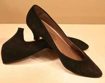 BLACK SUEDE BANDOLINO Shoes
