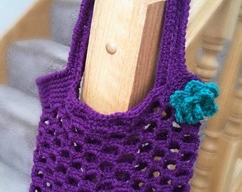 Crochet market bag//crochet bag