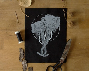 Affectionate Elephants Patch