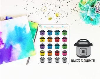 Instant Pot Planner Stickers