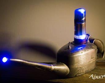 Pentode + LED oilcan lamp