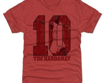 Tim Hardaway Shirt | Miami Throwbacks | Men's Premium T-Shirt | Tim Hardaway Game R