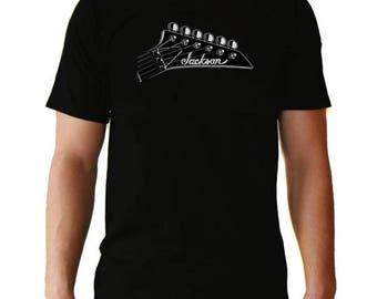 jackson guitars men t shirt different sizes guitars
