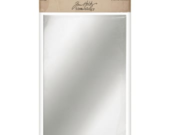 Tim Holtz - Idea-ology Collection - Adhesive Mirrored Sheets