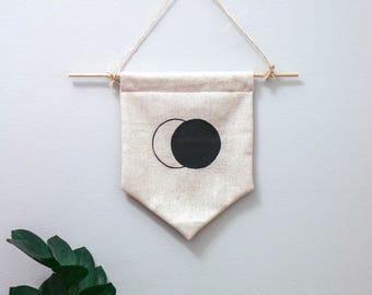 Lunar Eclipse Moon Banner