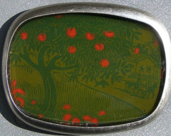 The Old Apple Tree book belt buckle