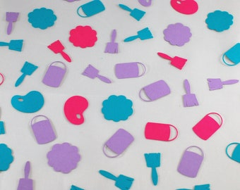 Art Party Confetti - Art Party Decorations - Art-Themed Birthday Party - Artist Party Decorations - Table Scatter - Shaped Confetti (150 pc)