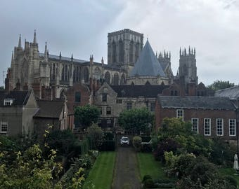 Beautiful City View in York, England