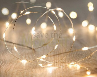 Submersible Waterproof String Fairy Lights, 20 LED per String.