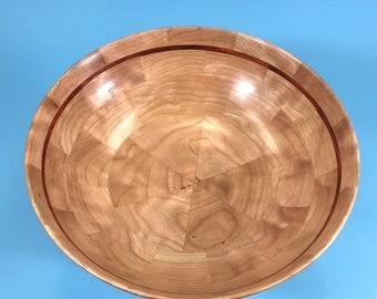 No. 14 - Segmented Bowl - Cherry