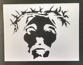 Jesus Christ Crown of Thorns Custom Stencil FAST FREE SHIPPING